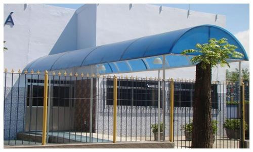 Coberturas em Policarbonato na Zona Sul - Rio de Janeiro