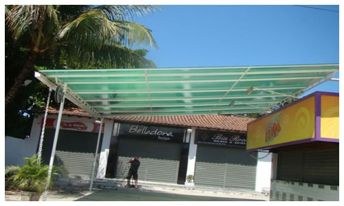 Coberturas em Policarbonato Zona Sul - Rio de Janeiro